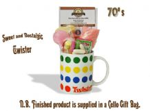 Twister Mug with/without a back breaking portion of 70's Sweeties